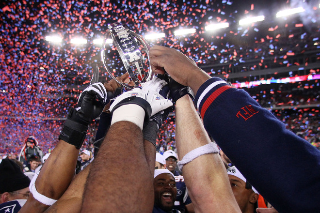 Image result for patriots win afc championship